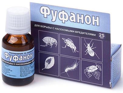 Препарат фунанон от насекомых
