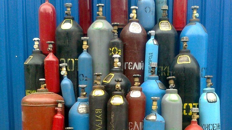 Использование газовых баллонов